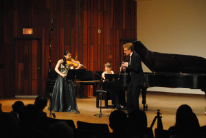 61st Annual Young Musicians Competition Koerner Hall Vancouver Academy of Music 2015 chamber music