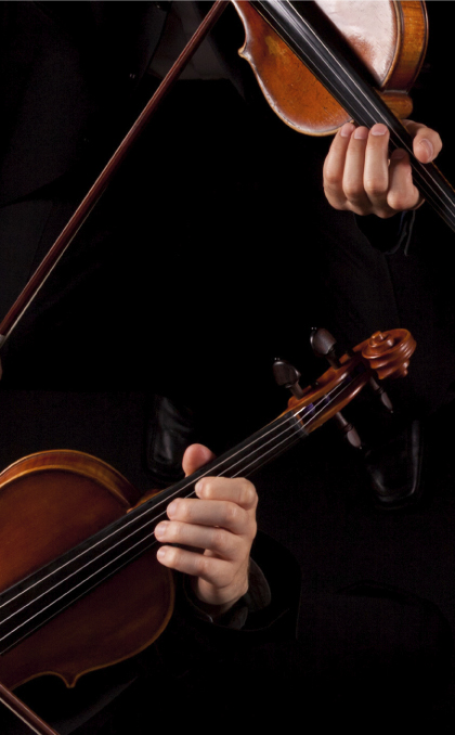 Friends of Chamber Music musical instruments