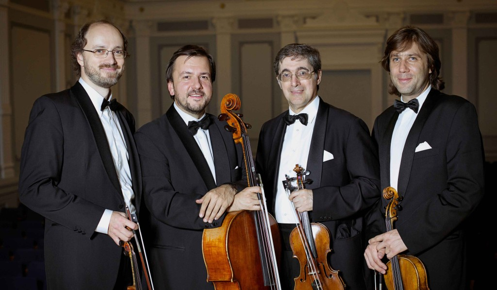 borodin quartet, friends of chamber music, chamber music, string quartet, Russian ensemble