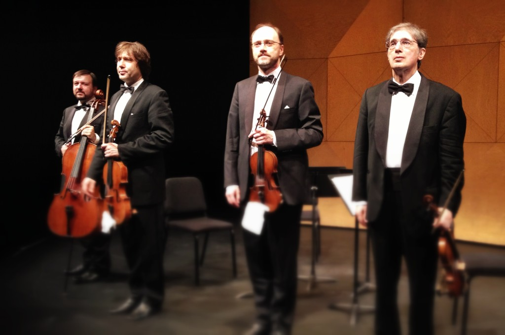 borodin quartet, 70th anniversary celebration, vancouver playhouse, vancouver, chamber music, classical music, performance, concert, dmitri shostakovich, russian string quartet