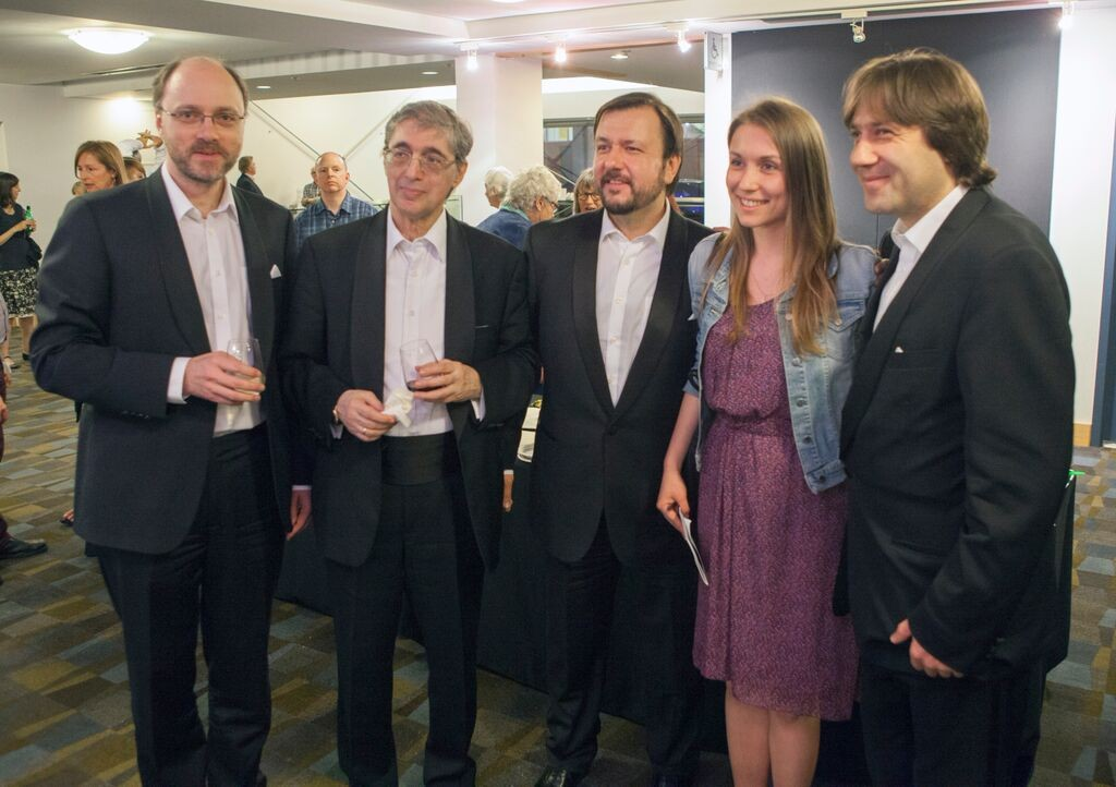 borodin quartet shostakovich reception vancouver playhouse 2015