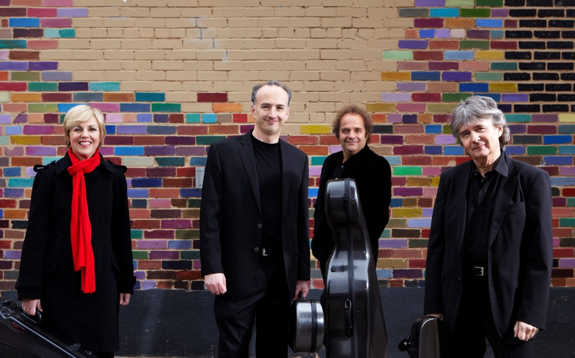 Takács Quartet by Keith Saunders - Friends of Chamber Music